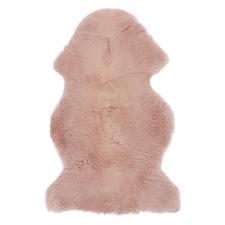 Rose Pink New Zealand Sheepskin Rug