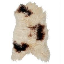 Spotted Brown Antigonos Icelandic Sheepskin Rug