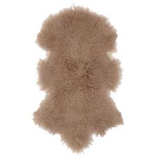 Camel Aquilin Mongolian Sheepskin Rug