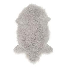 Light Grey Helios Mongolian Sheepskin Rug