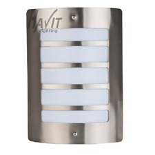 Stainless Steel Marine Grade 316 Mask Wall Light Five Slots with Opal Diffuser