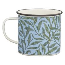 Leaf 500ml Enamelled Steel Mug