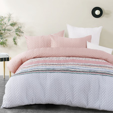 Quilted Cora Quilt Cover Set