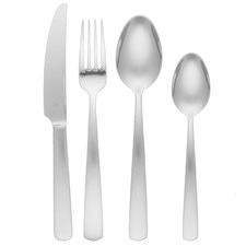 32 Piece Tablekraft Sienna Stainless Steel Cutlery Set