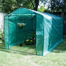 Greenhouse Walk-in Garden Shed Mesh PE Cover