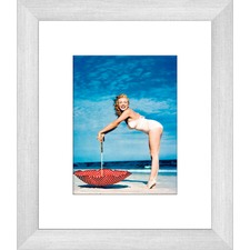 Marilyn at the Beach Two of Two Framed Print