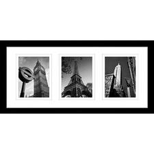 Iconic Landmark Series Framed Trio Print