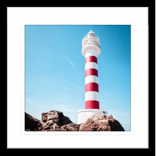 By the Seaside I Framed Print