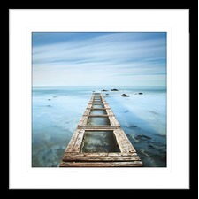 By the Seaside VII Framed Print