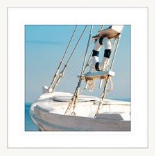 By the Seaside VIII Framed Print