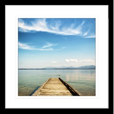 By the Seaside XII Framed Print