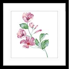 Flora and Fauna XI Framed Print