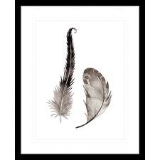 Flourishing Feathers IV Framed Print