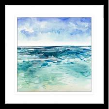 Seascapes II Framed Print