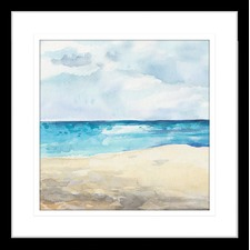 Seascapes III Framed Print