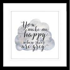 Sunshine II (You are my) Framed Print