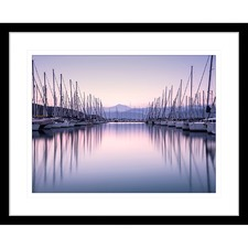 Sunset Serenity III Framed Print