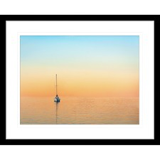 Sunset Serenity IV Framed Print