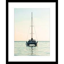 Sunset Serenity V Framed Print