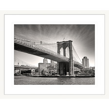 Clarity IV Framed Printed Wall Art