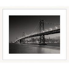 San Francisco Bridge Framed Printed Wall Art
