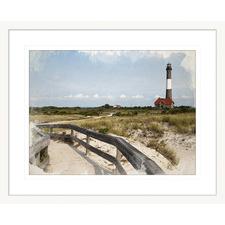 Hamptons Postcard l Framed Printed Wall Art