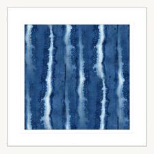 Seamless Swimming lll Framed Printed Wall Art