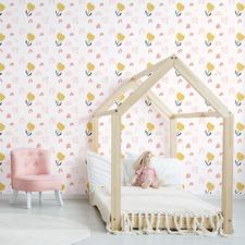Pink Buttercup Lane Peel & Stick Wallpaper