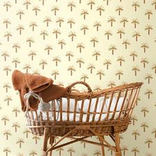 Beach Bum Vintage Palms Peel & Stick Wallpaper