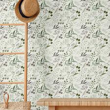 Sage Gum Peel & Stick Wallpaper