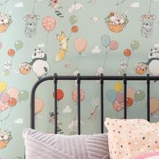 Float Away Peel & Stick Wallpaper