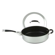 30cm Steel Elite Covered Saute Pan