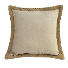 Jute Linen Sand Cushion 50x50cm
