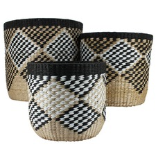 3 Piece Large Maroc Baskets