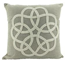 Sand Celtic Square Cushion