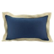 Jute Border Rectangular Cushion