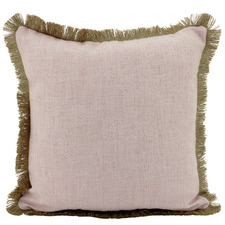 Fringed Basic Square Cushion