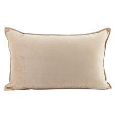 Basic Rectangular Velvet Cushion