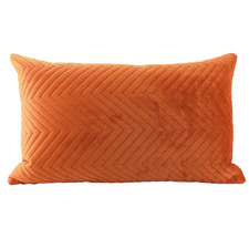 Quilted Rectangular Velvet Cushion