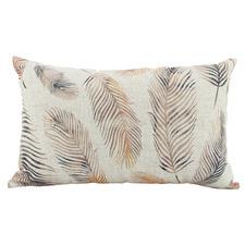 Floating Feathers Rectangular Cushion