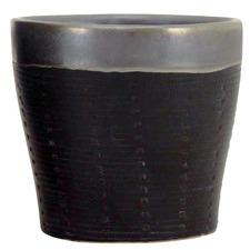 Black Maya Ceramic Planter Pot