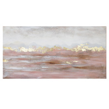 Blush Desert Canvas Wall Art