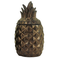 21cm Pineapple Ceramic Jar
