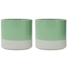 Sage Sandy Ceramic Planter Pot