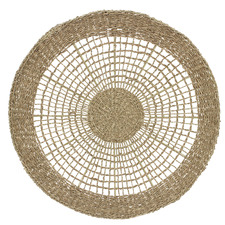 Natural Seagrass Hand-Woven Wall Decor