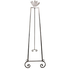 Silver Scarlet Adjustable Wall Art Display Stand