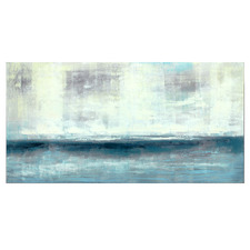 Deep Blue Sea Stretched Canvas Wall Art