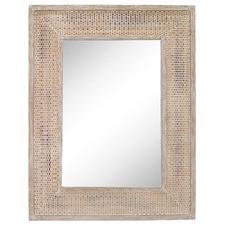 Leanna Rattan Wall Mirror
