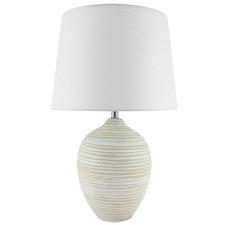 Whitewashed Cianna Ceramic Table Lamp