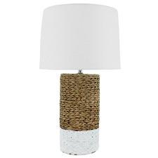 Natural & White Cianna Ceramic Table Lamp
